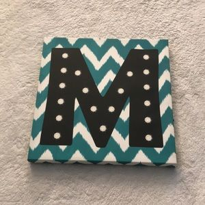 M light up sign